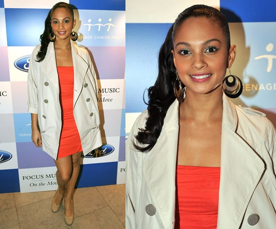 Alesha Dixon and Sam and Amanda Marchant Attend Ford Music: On the Move Party