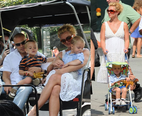 Photos of Britney and the Boys in NYC