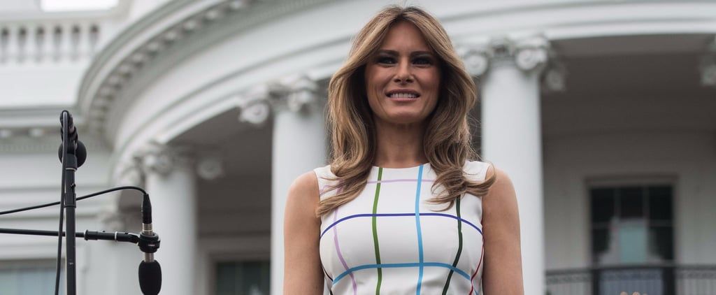 Melania Trump Won't be Sitting on the Grass in This $1,900 Picnic Dress