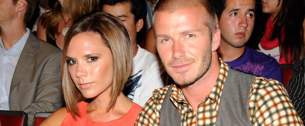 David Beckham Admits He Kept Victoria's Train Ticket