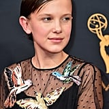 Millie Bobby Brown With a Pixie Haircut in 2016