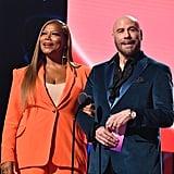 Queen Latifah and John Travolta at the 2019 MTV VMAs