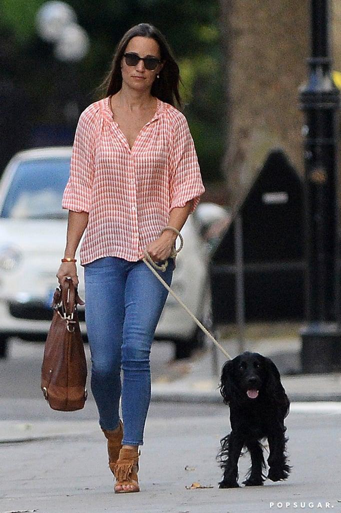 Pippa Middleton Fringe Shoes July 2016 Popsugar Fashion