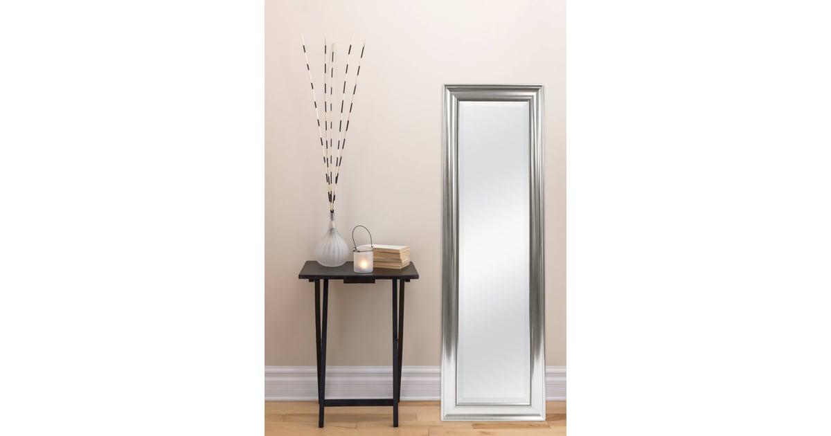 Threshold Beaded Leaner Floor Mirror Silver We Can T Believe