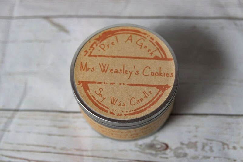 Mrs. Weasley's Cookies Candle ($12)