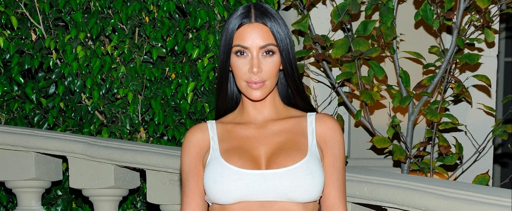 Kim Kardashian's Skirt Was So Darn Flashy, She Didn't Even Need a Top