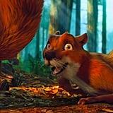 Miguel as a Squirrel