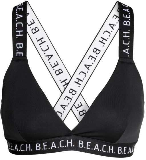For ladies with a bigger bust, find a bikini top with sturdy straps like this one from H&M ($18).