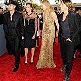 Nicole and Keith Catch Up With Faith and Tim at the Grammys