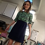Gillian Jacobs gave credit where it was due for her Rachel Antonoff designs. Source: Instagram user giliianjacobs