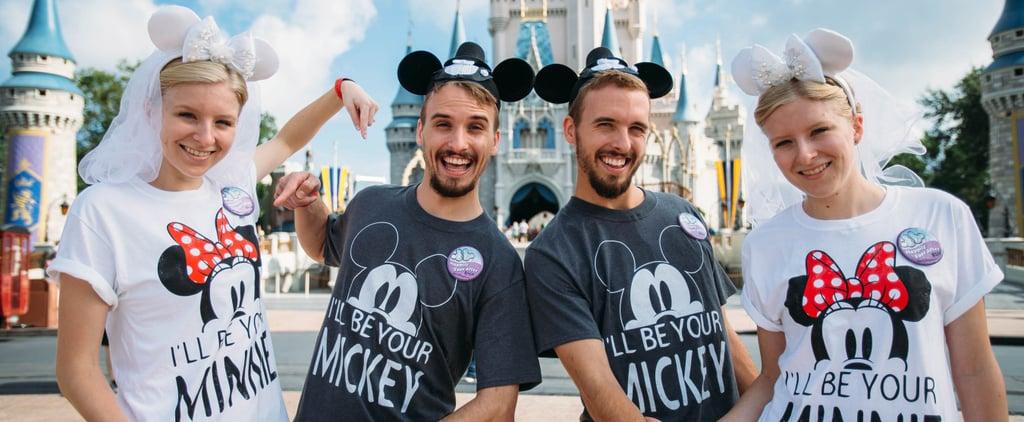 Twins Who Married Twins Honeymoon at Disney World 2018