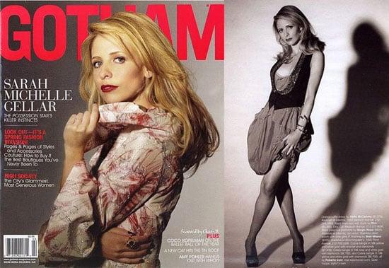 Sarah Michelle Gellar For Gotham Magazine