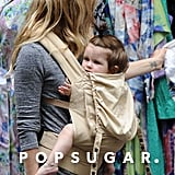 Sienna Miller browsed the racks at a flea market.
