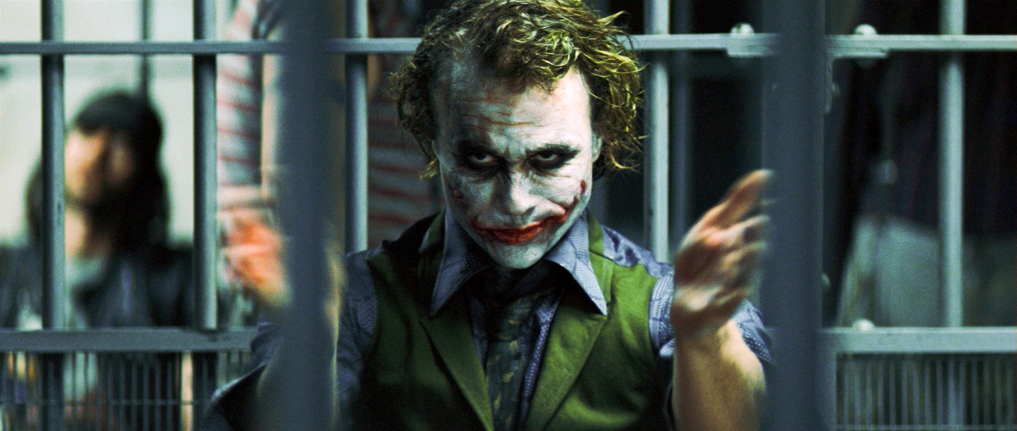 THE DARK KNIGHT, Heath Ledger as The Joker, 2008. Warner Bros./Courtesy Everett Collection