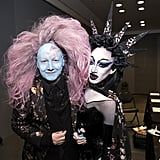 James St. James received a makeover by Vander Von Odd.