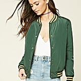 Forever 21 Striped Varsity Jacket ($25)
