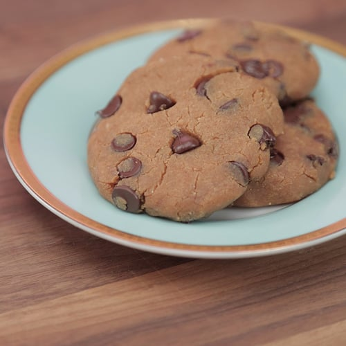 Protein-Packed Chocolate Chip Cookies