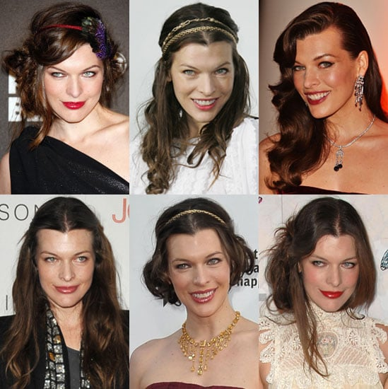 Pictures of Milla Jovovich's Hair