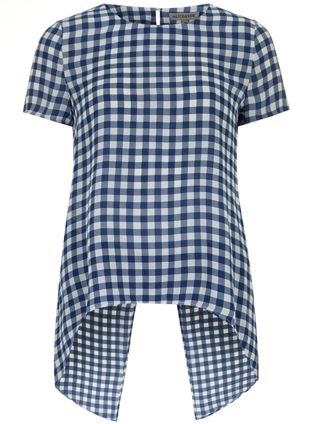 Alice & You Gingham Blouse
