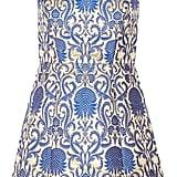 Alice + Olivia Carrie Metallic Brocade Mini Dress ($430)