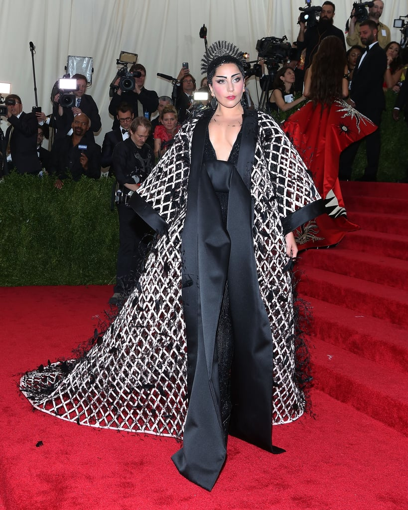 Lady Gaga at the 2015 Met Gala