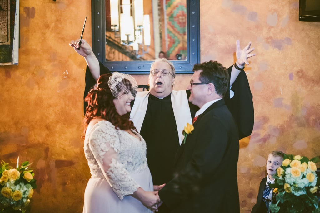 Witches and Wizards, You'll Wish You Could Apparate to This Harry Potter Wedding!