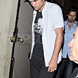 Robert Pattinson leaves the Chateau Marmont.