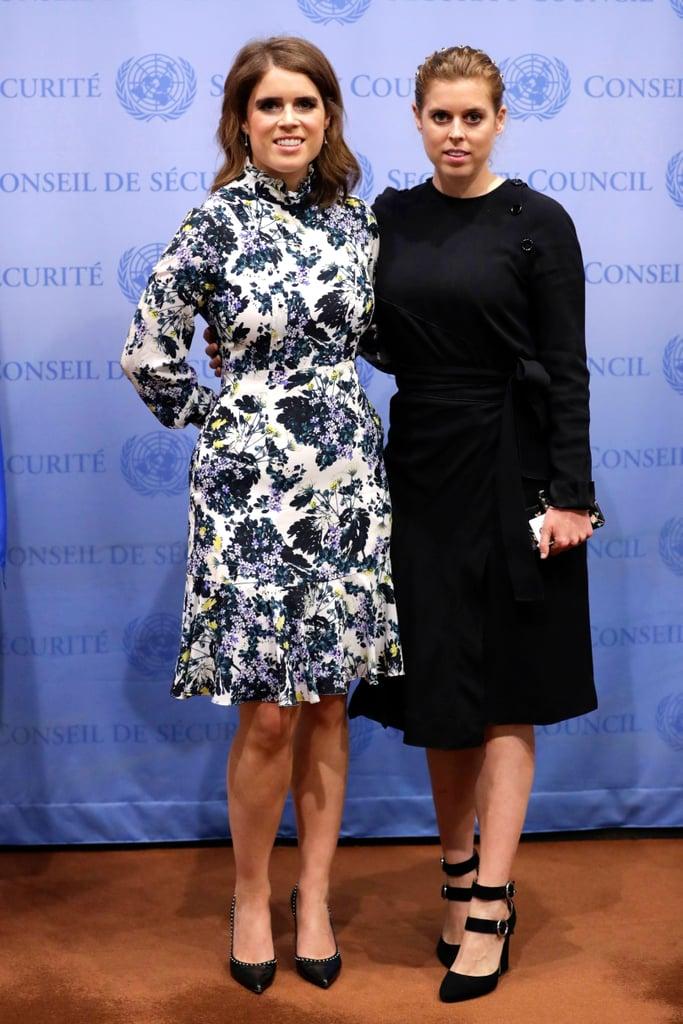 Princess Eugenie Wearing Erdem at the UN Headquarters