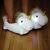 Smoko Unicorn Light Up Slippers