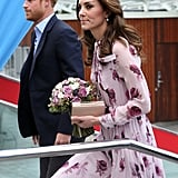 Kate Middleton Kate Spade Dress World Mental Health Day 2016