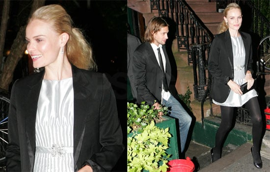 Photos of Kate Bosworth and James Rousseau at Chanel Mobile Art After Party, Interview with Kate About Her Favorite Chanel Piece
