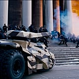A scene from The Dark Knight Rises.