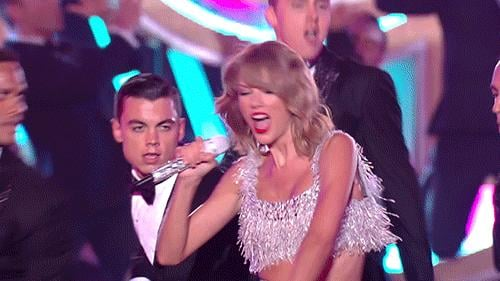 Taylor Swift Proceeded to Shake It Off, Obviously