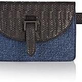 Meli-Melo Bum Bag Denim and Black Woven