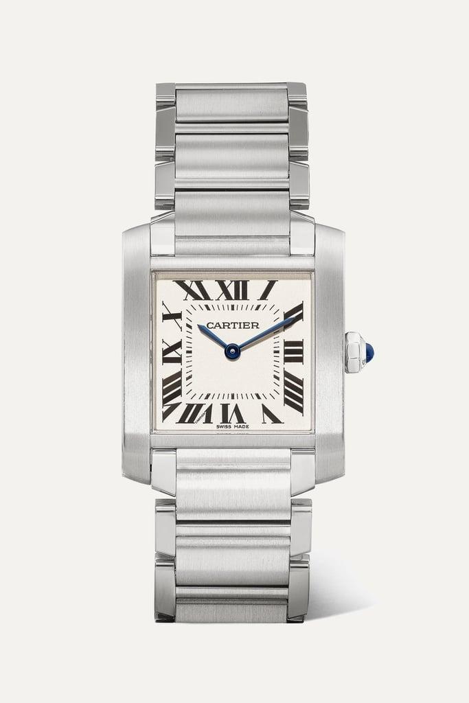 Cartier Tank Française Medium 25.05mm Stainless Steel Watch ($5,250)