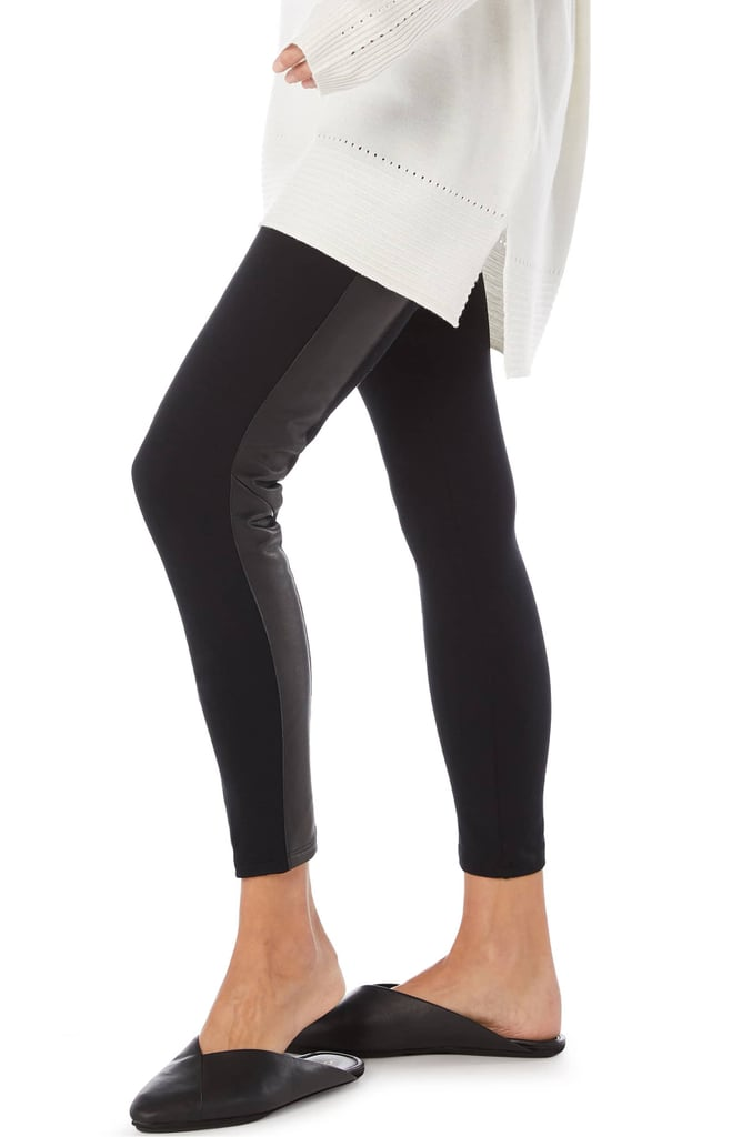 45d9cdc15eb24a Michael Stars Tuxedo Stripe Leggings | Best Black Leggings For Work ...