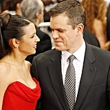 Matt Damon and Luciana Barroso: 13 Years