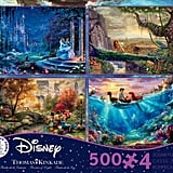 Thomas Kinkade Disney 500 Piece 4-in-1 Puzzle Set