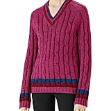 Gucci Lurex Cable-Knit Sweater