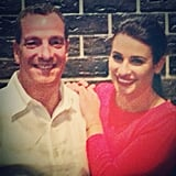 Lea Michele took a special trip to New Orleans with her dad.  Source: Instagram user msleamichele