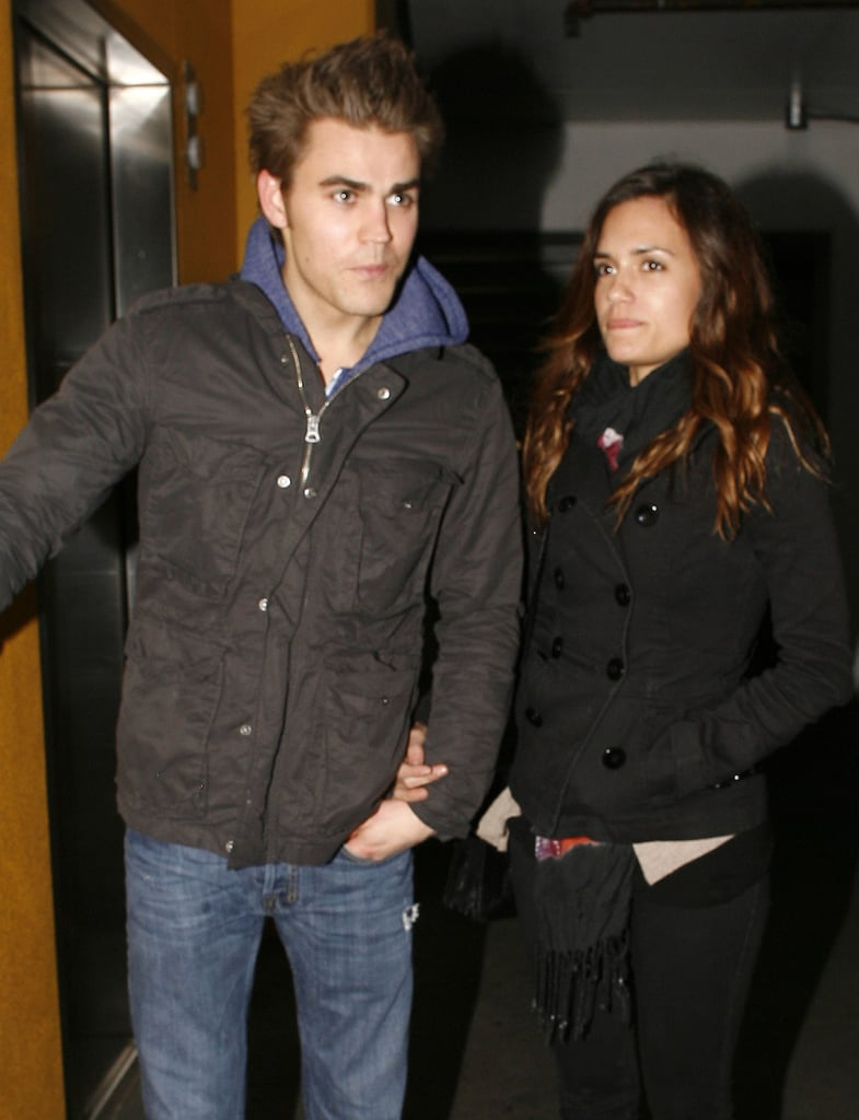 Pictures of Paul Wesley and his Girlfriend in LA ...