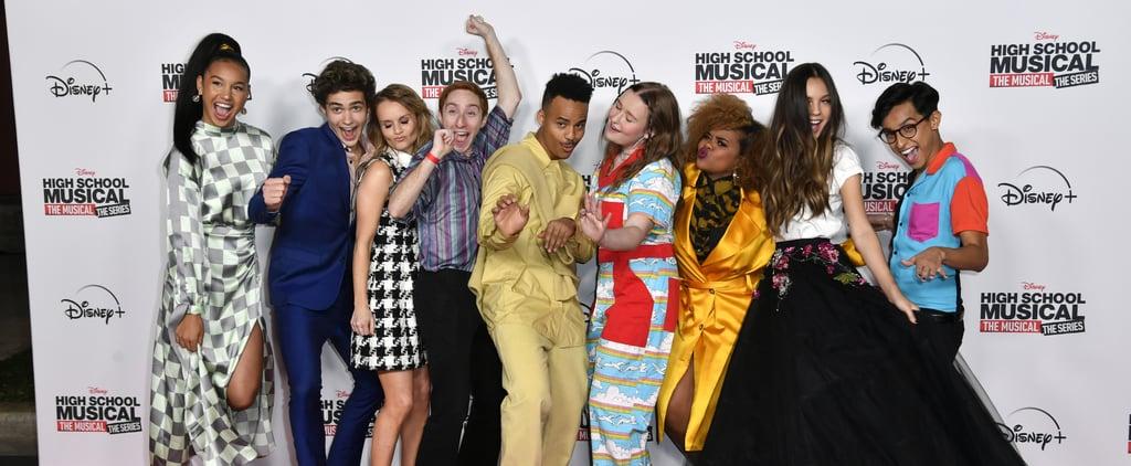 High School Musical Series Cast Attends LA Premiere Photos