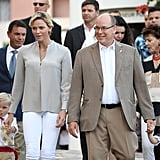 The Monaco Royal Family at Summer Picnic September 2018