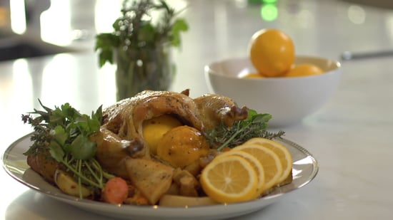 Engagement Chicken Recipe Video Popsugar Middle East Food