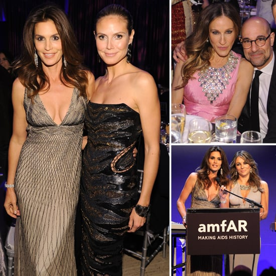 See Inside amfAR's Glam Gala With SJP, Cindy, and Heidi