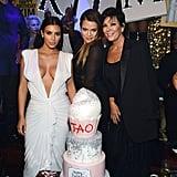 Kim Kardashian Diamond Birthday Cake