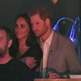 Prince Harry Kissing Meghan Markle at Invictus Games 2017