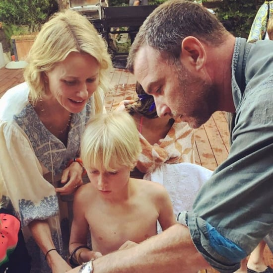 Naomi Watts and Liev Schreiber Son's Birthday Instagram 2017