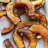 We were salivating over these delicious pumpkin chips, a much healthier alternative to fries!