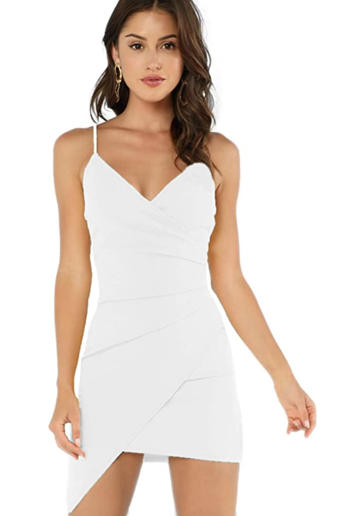 Verdusa Ruched Bodycon Dress
